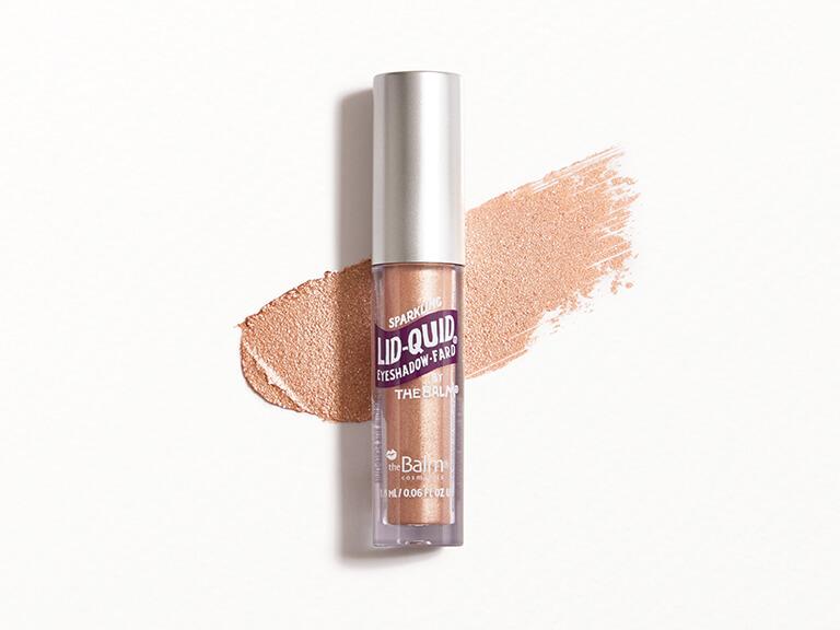 THEBALM COSMETICS Lid-Quid Sparkling Liquid Eyeshadow in Rosé
