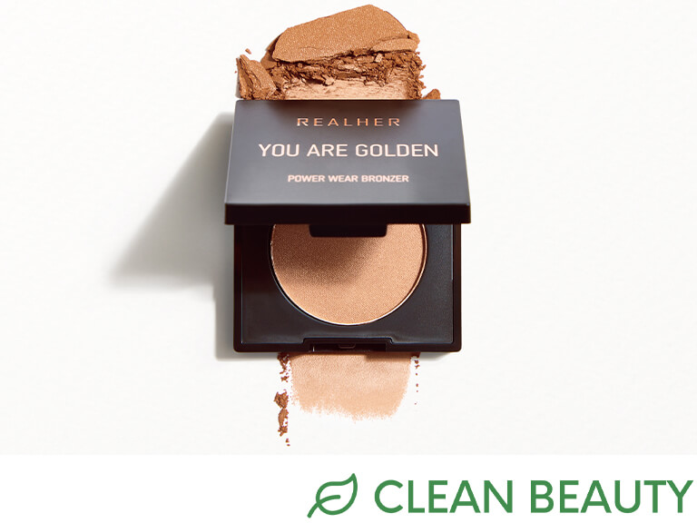 REALHER Power Wear Ombre Bronzer in You Are Golden (Sample)