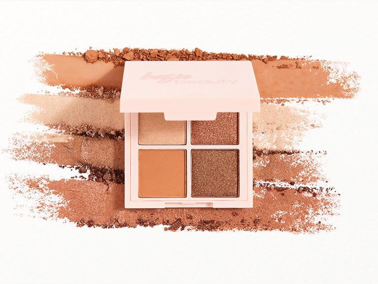 BASIC BEAUTY Hot Cocoa Bomb Eyeshadow Quad