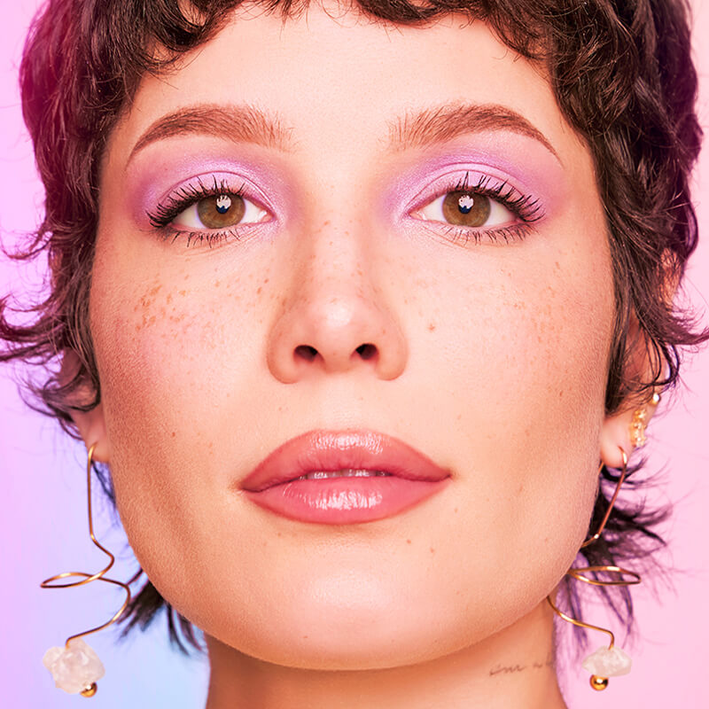August 2021 Halsey Makeup Tutorial Story Module