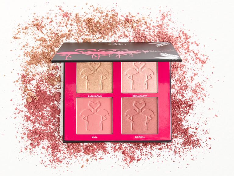 Shaina B Miami Mini Miami Blush and Highlight Palette v2