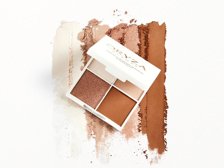ORYZAPrecious Platinum Shimmer Eyeshadow