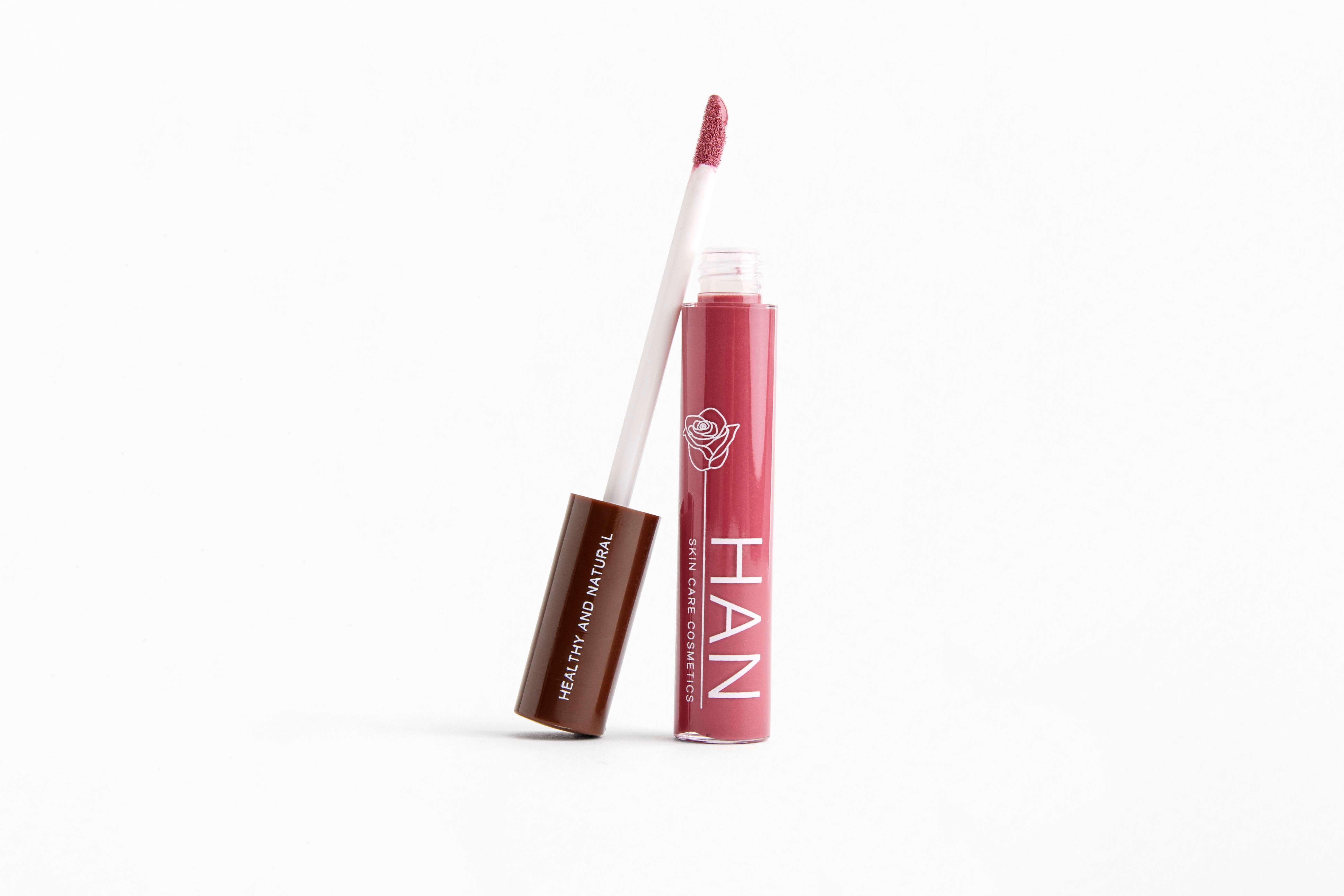 HAN Lip Gloss in Lip Gloss- Raspberry Chardonnay