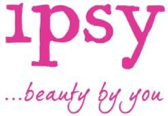 Pink ipsy logo with text